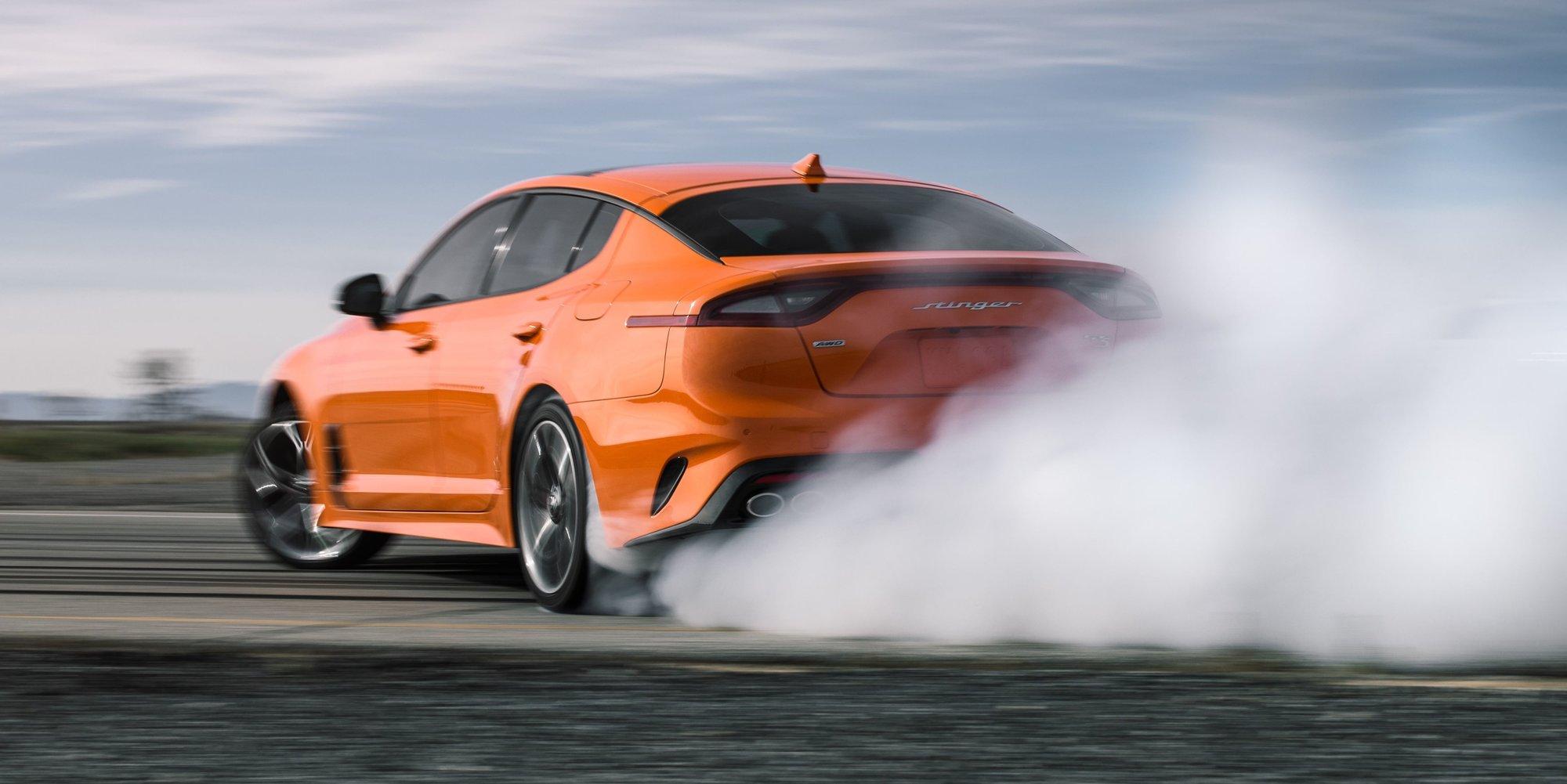 Máte rádi driftování? Limitovaná edice Kia Stinger GTS je tu pro vás