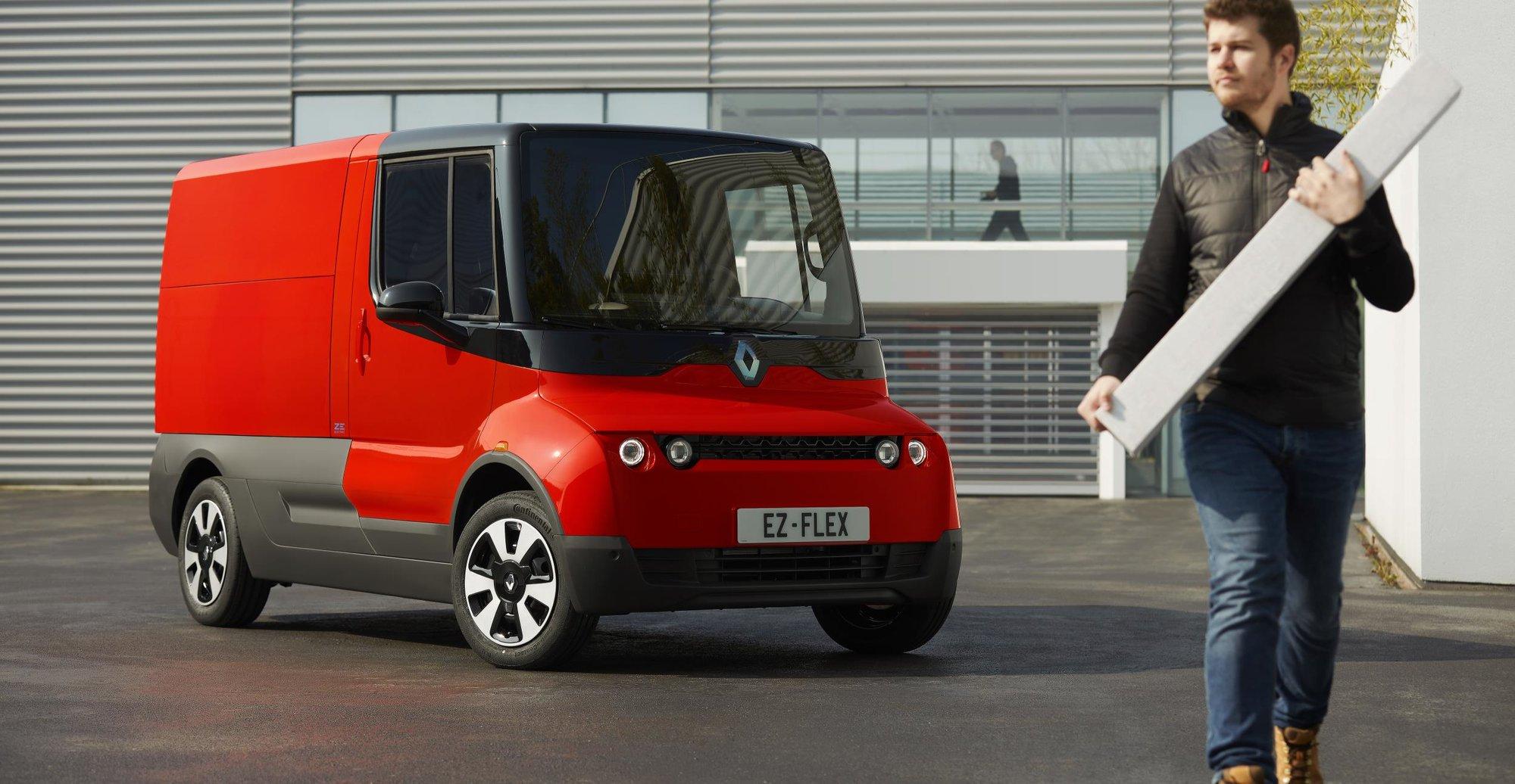 Renault má novou dodávku. Je elektrická a určená do městských ulic - anotační obrázek
