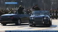Aurus Senat v provedení kabriolet (YouTube/Новости на Первом Канале)