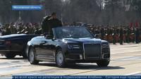 Aurus Senat v provedení kabriolet (YouTube/Новости на Первом Канале