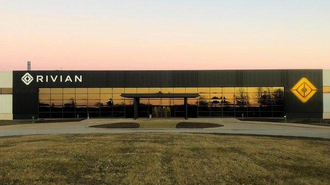 Sídlo automobilky Rivian ve městě Normal (stát Illinois, USA)