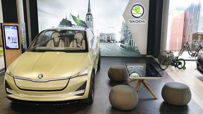 První digitální showroom značky Škoda v ČR otevřen v Plzni