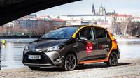 Anytime carsharing nabízí v Praze prvních 100 hybridních Toyot Yaris (Facebook/@anytimecz)