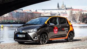 Sdílení automobilů dobývá Prahu, Anytime carsharing nabízí prvních 100 hybridních Toyot Yaris - anotační obrázek