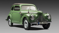 Původní Škoda 1101 Tudor z roku 1948