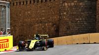 Daniel Ricciardo v tréninku v Ázerbájdžánu