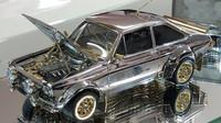 Klenotník vytvořil úchvatnou repliku Fordu Escort 1:25 z materiálů v hodnotě 2.3 milionu korun