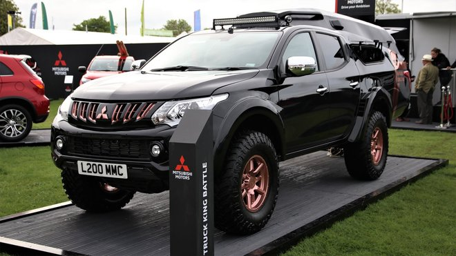 Koncept Mitsubishi L200 eSports (Facebook/Mitsubishi Motors in the UK)