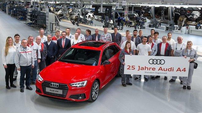 Audi A4 slaví jubileum