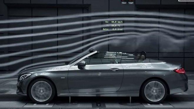 Proudění vzduchu kolem automobilu