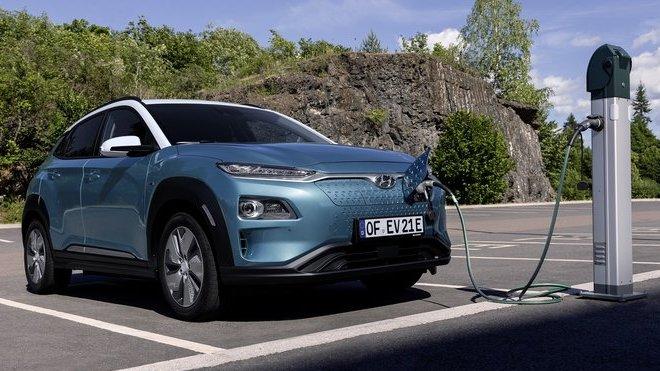 Hyundai představuje vylepšený model KONA Electric pro nový modelový rok