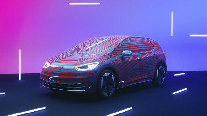 Volkswagen ID.3 bude prvním modelem, který ponese nové logo VW