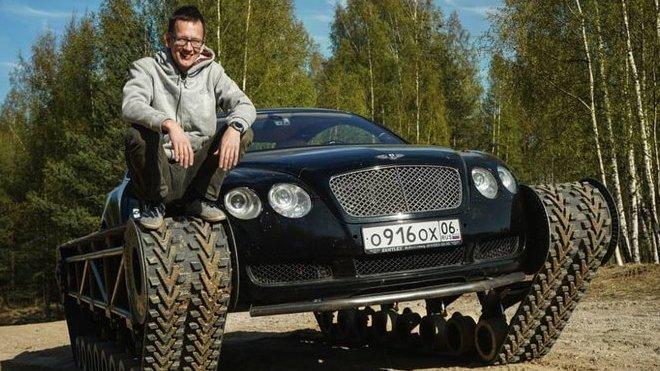 V Rusku se rozhodli přestavět Bentley Continental na tank