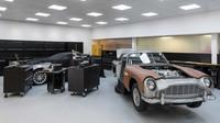 Aston Martin Goldfinger DB5 Continuation nabídne řadu zajímavých úprav
