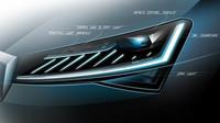 Přepracovaný Superb bude prvním sériovým modelem značky Škoda, disponujícím fullLED-matrixovými světlomety a dynamickými světelnými funkcemi