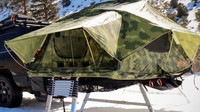 Nový systém Hitch Tent umožňuje umístit střešní stan na tažné zařízení, což přináší řadu výhod