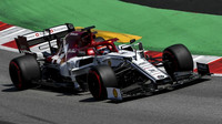 Kimi Räikkönen s Alfou Romeo C38