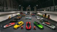 Záběry z šestého ročníku automobilové slavnosti Legendy