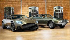 Aston Martin připravil další edici ve stylu Jamese Bonda, tentokrát v podání DBS Superleggera - anotační obrázek