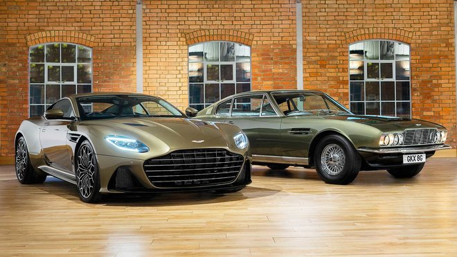 Aston Martin DBS Superleggera On Her Majesty's Secret Service