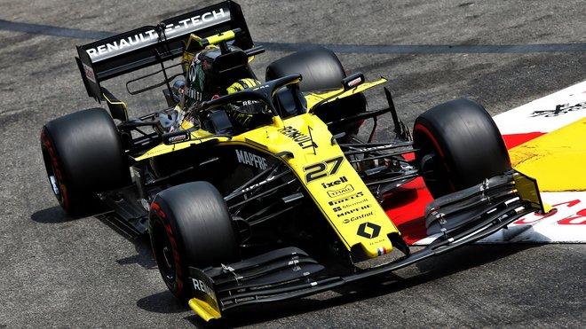 Nico Hülkenberg v kvalifikaci na GP Monaka