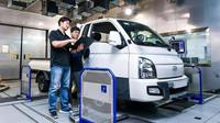 Lehké užitkové elektromobily Hyundai budou přizpůsobovat svoji jízdu aktuální hmotnosti