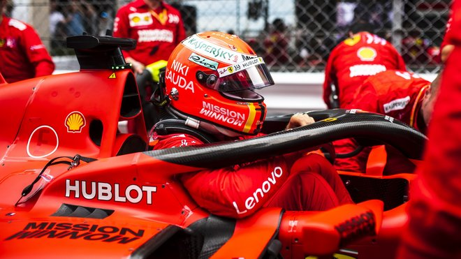 Sebastian Vettel před závodem v Monaku