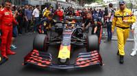 Max Verstappen před závodem v Monaku