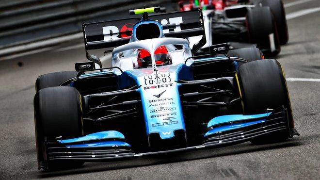 Robert Kubica v závodě v Monaku