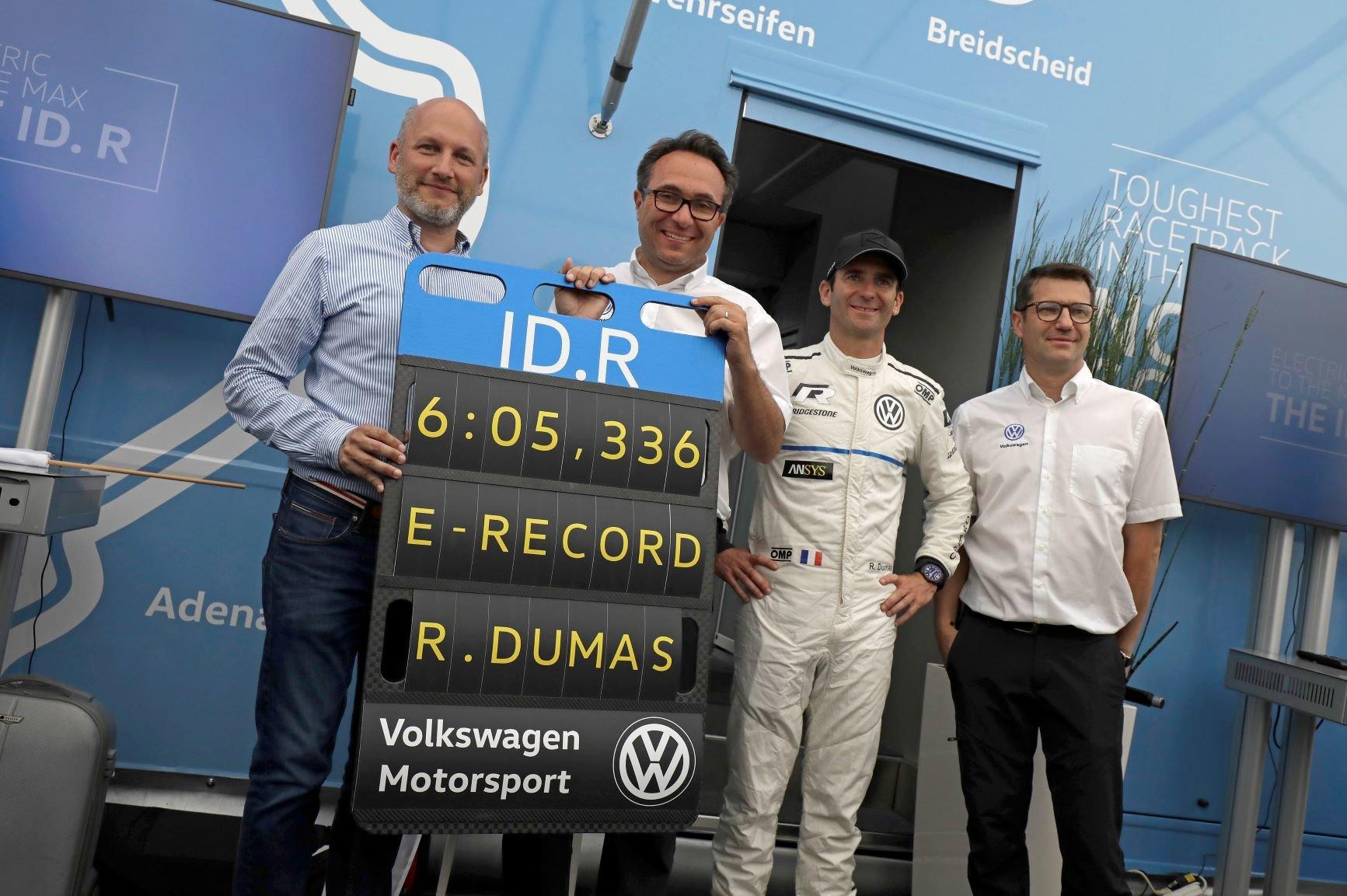 Volkswagen ID. R Nürburgring record