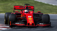 Sebastian Vettel v závodě v Kanadě