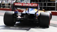 Carlos Sainz v závodě v Kanadě