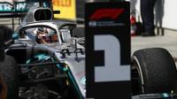 Lewis Hamilton po závodě v Kanadě