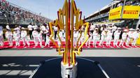 Trofej pro vítěze závodu v Kanadě