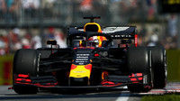 Max Verstappen v závodě v Kanadě