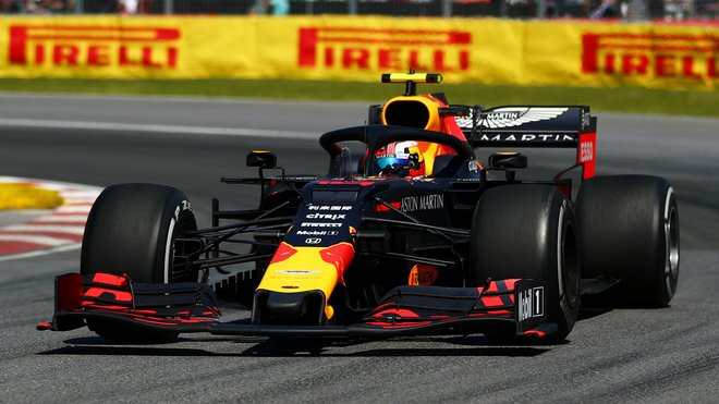 Pierre Gasly s Red Bullem RB15