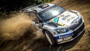 Filip Mareš a Jan Hloušek vítězi XV. Agrotec Petronas Rally 2019 - anotační obrázek
