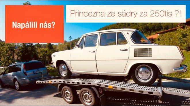 Škoda 1000MB 1967 | Čtvrt milionu za princeznu ze sádry?