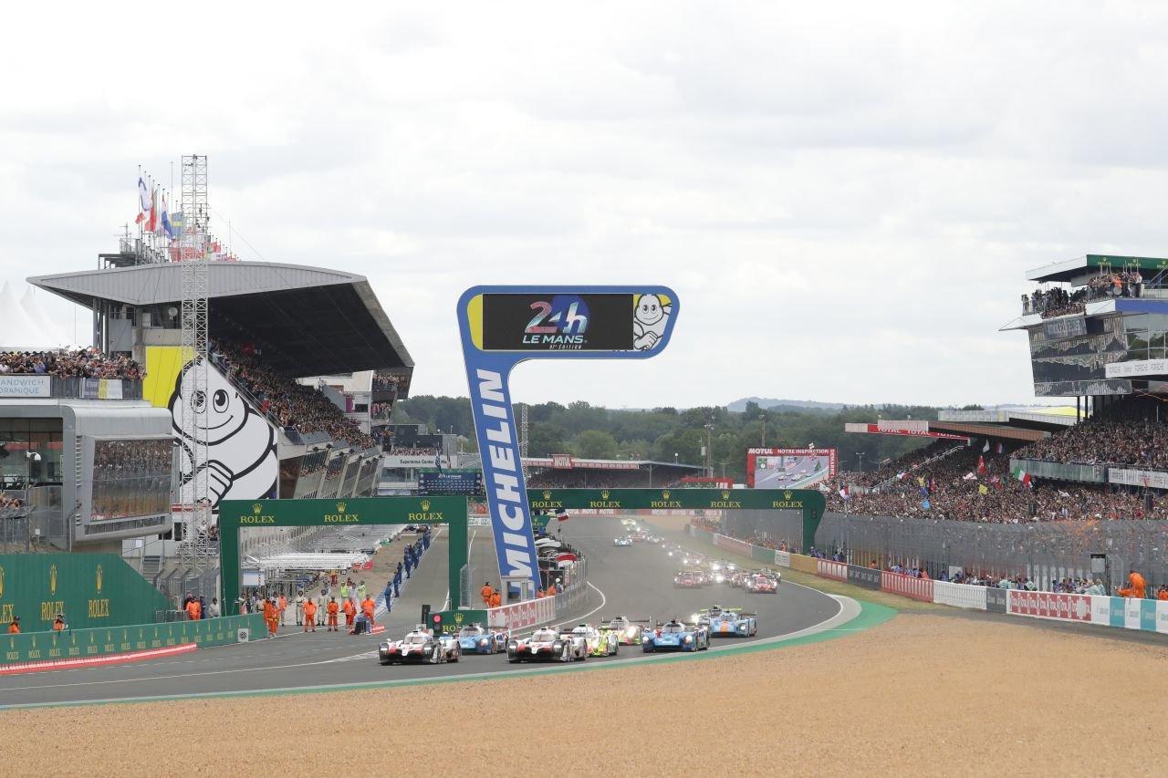 Start závodu 24 hodin Le Mans 2019
