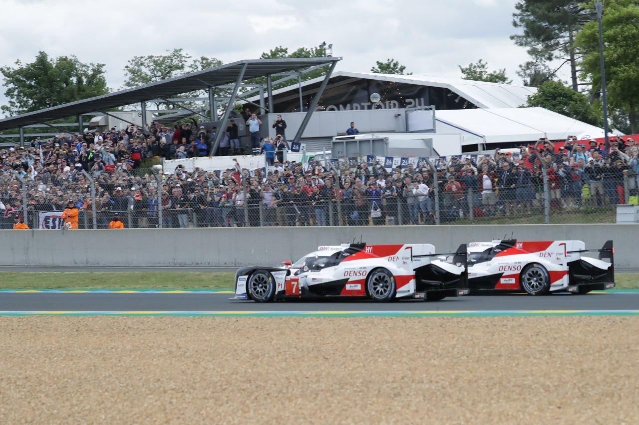 Souboj o vítězství v závodě 24 hodin Le Mans 2019
