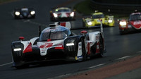 O vítězství v závodě 24 hodin Le Mans připravilo posádku vozu č. 7 čidlo