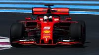 Sebastian Vettel ve Francii zajel nejrychlejší kolo