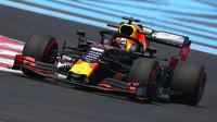 Max Verstappen v tréninku ve Francii