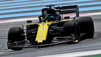 Daniel Ricciardo v tréninku ve Francii