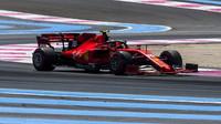 Charles Leclerc v kvalifikaci ve Francii