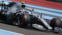 Valtteri Bottas v kvalifikaci ve Francii
