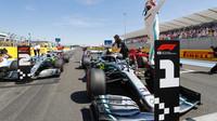 Lewis Hamilton po úspěšné kvalifikaci ve Francii