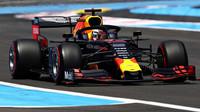Max Verstappen v kvalifikaci ve Francii