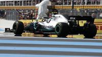 Valtteri Bottas v závodě ve Francii