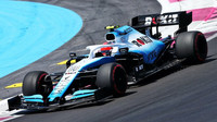 Robert Kubica v kvalifikaci ve Francii
